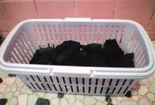 ブラックシリカ遠赤外線 温浴器のお風呂風景