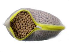 ゲルマニウムセラミックボールをネット袋に入れたサンプル写真