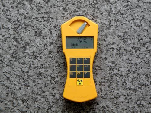 第2回目の計測 ラジウムセラミックチップRa+C 放射線線量