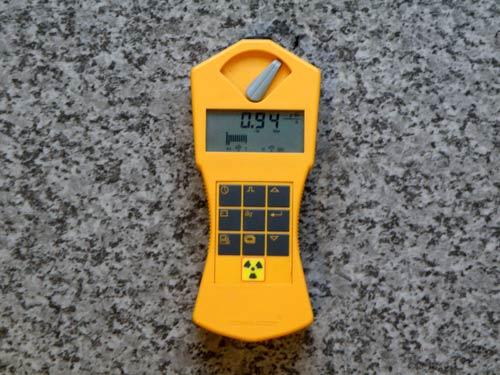 第3回目の計測 ラジウムセラミックチップRa+C 放射線線量