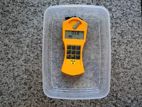 ラジウムセラミックチップRa+E 放射線線量 第2回目の計測