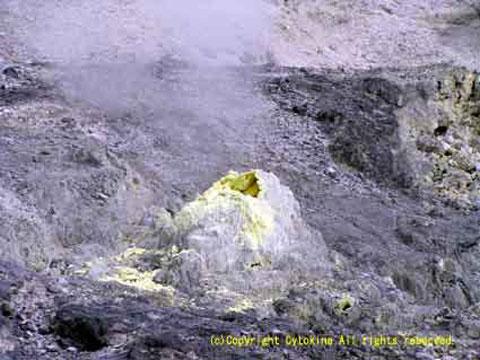 玉川温泉 噴気孔