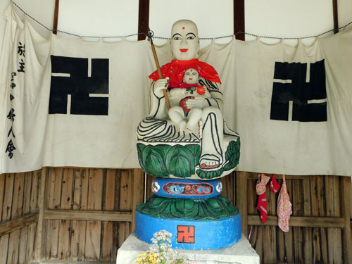 子安地蔵大菩薩の全体像