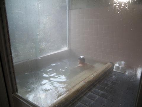 犬鳴山温泉 山の湯 浴槽
