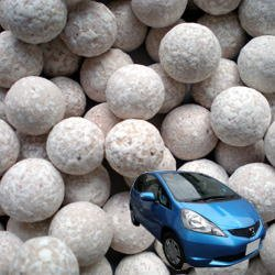 画像1: 銀イオンセラミックボール [自動車用] 直径10mm/100g