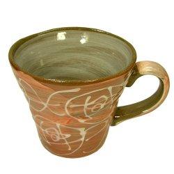 画像1: マグカップ 一珍紅バラ [美濃焼]