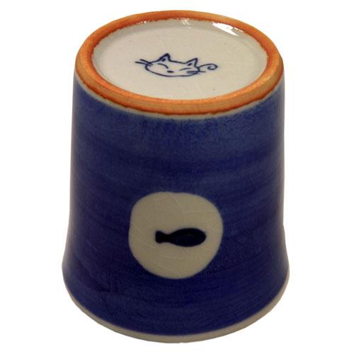 タマ プチカップ(青) 底面