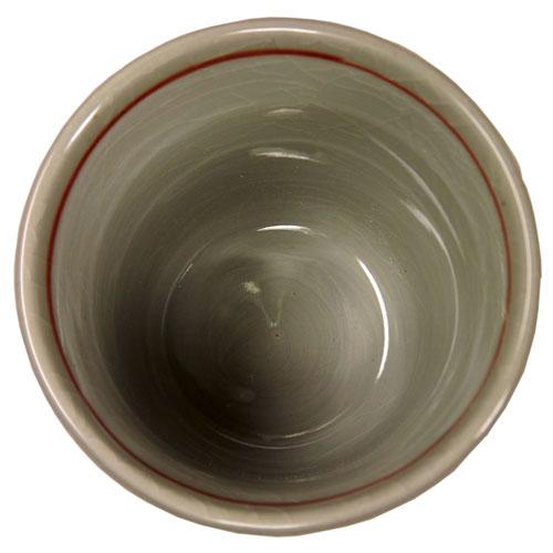 猫タマ プチカップ(紅) 内側