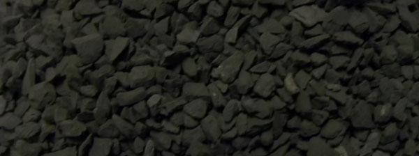 ブラックシリカ細粒原石