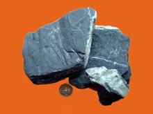ゲルマニウム鉱石の写真 破砕前