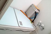 ゴミ箱24時間温浴器