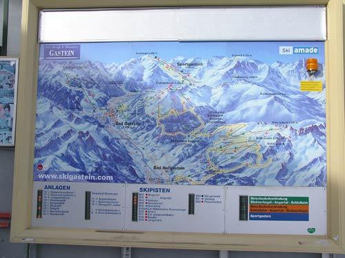 バドガシュタインはスキーの街