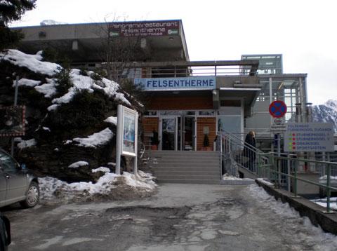 フェルセンテルメ バドガシュタインにある健康増進センターの写真