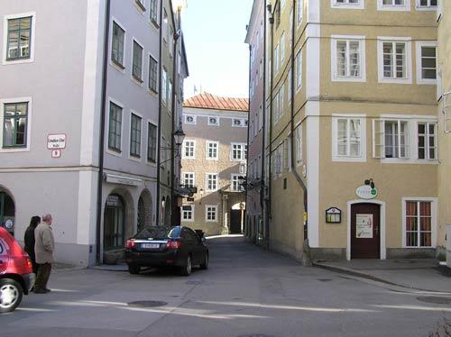 ザルツブルグの旧市街(世界遺産登録)
