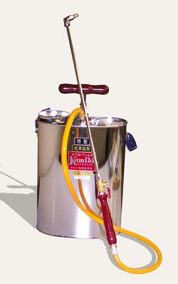 噴霧器 B-6(肩掛型)容量:10リットル [総真ちゅう製高級噴霧機]