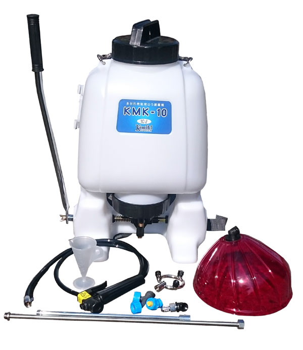 樹脂多目的背のう噴霧器 KMK-10