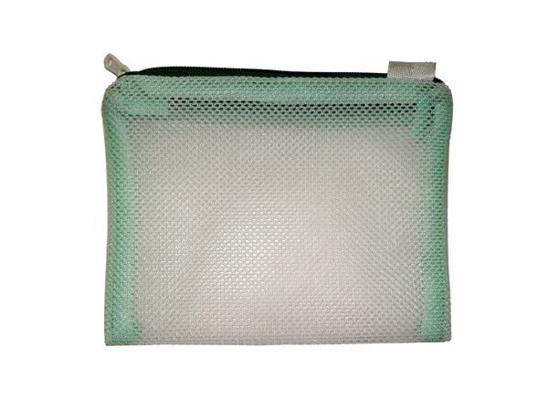 温浴器を自作するときに他のセラミックボールや鉱石と分けるときに必要なネット袋の写真