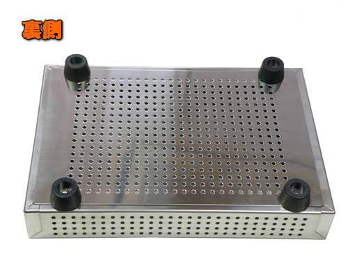 温浴用のステンレス容器は、セラミック&鉱石本舗のオリジナル製品です。