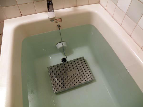 ステンレス温浴用容器の使用例