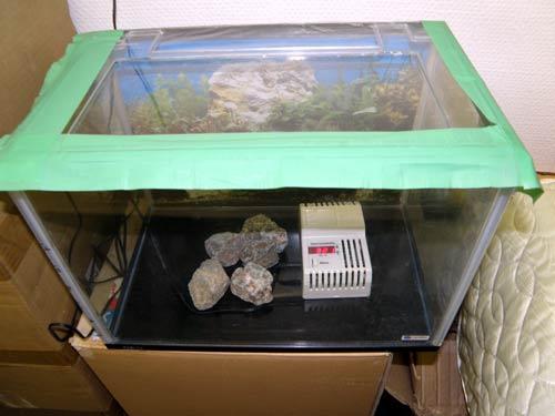 ラドン温浴器 957のラドン濃度測定風景