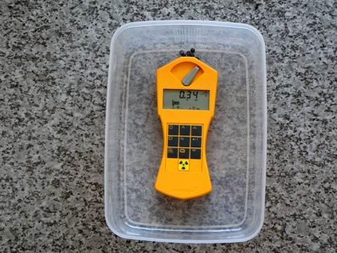 ラジウムセラミックチップRa+B5 放射線線量 第3回目の計測