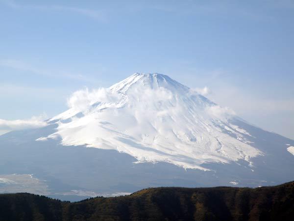溶岩マリモの生まれ故郷の富士山